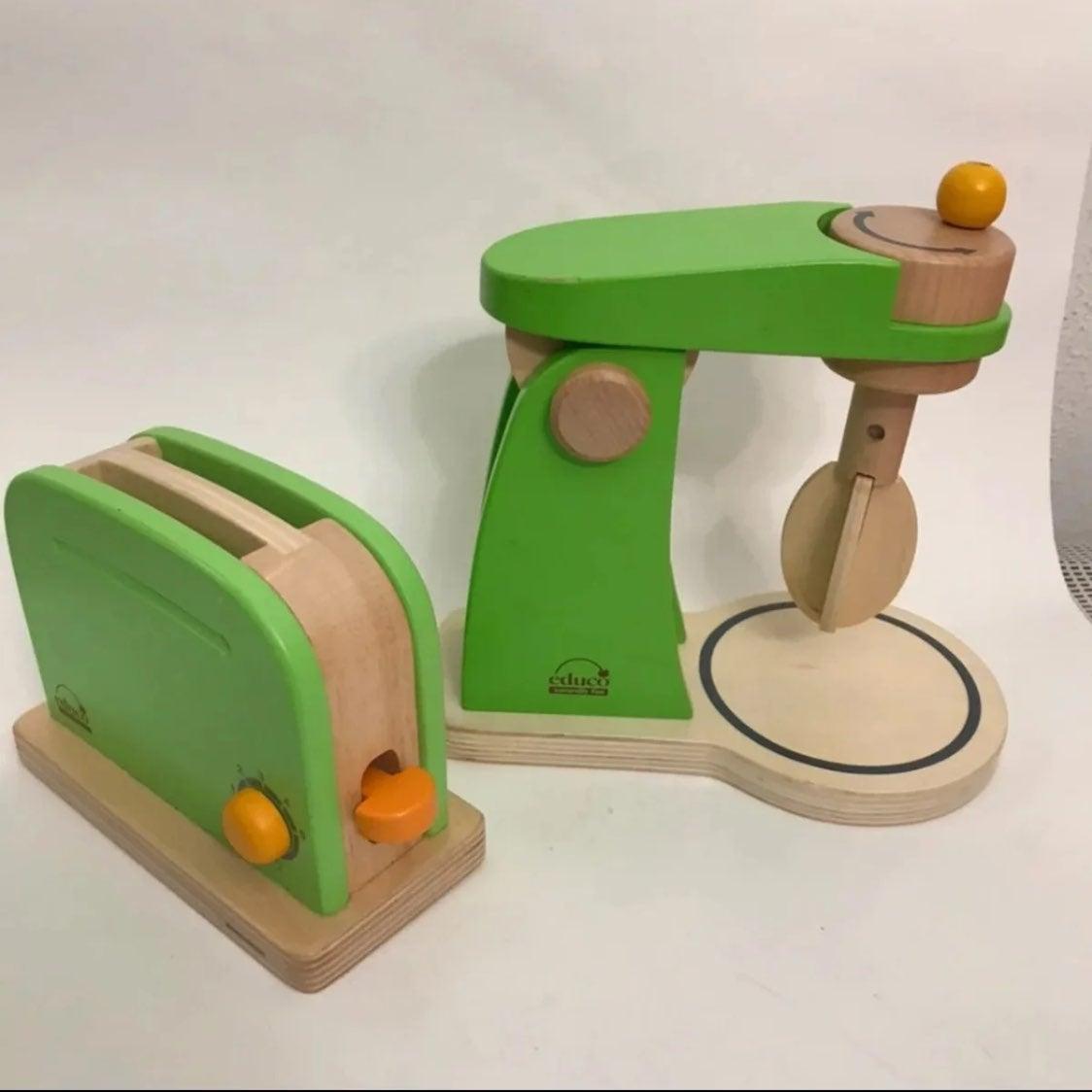 Educo kitchen playset mixer and toaster