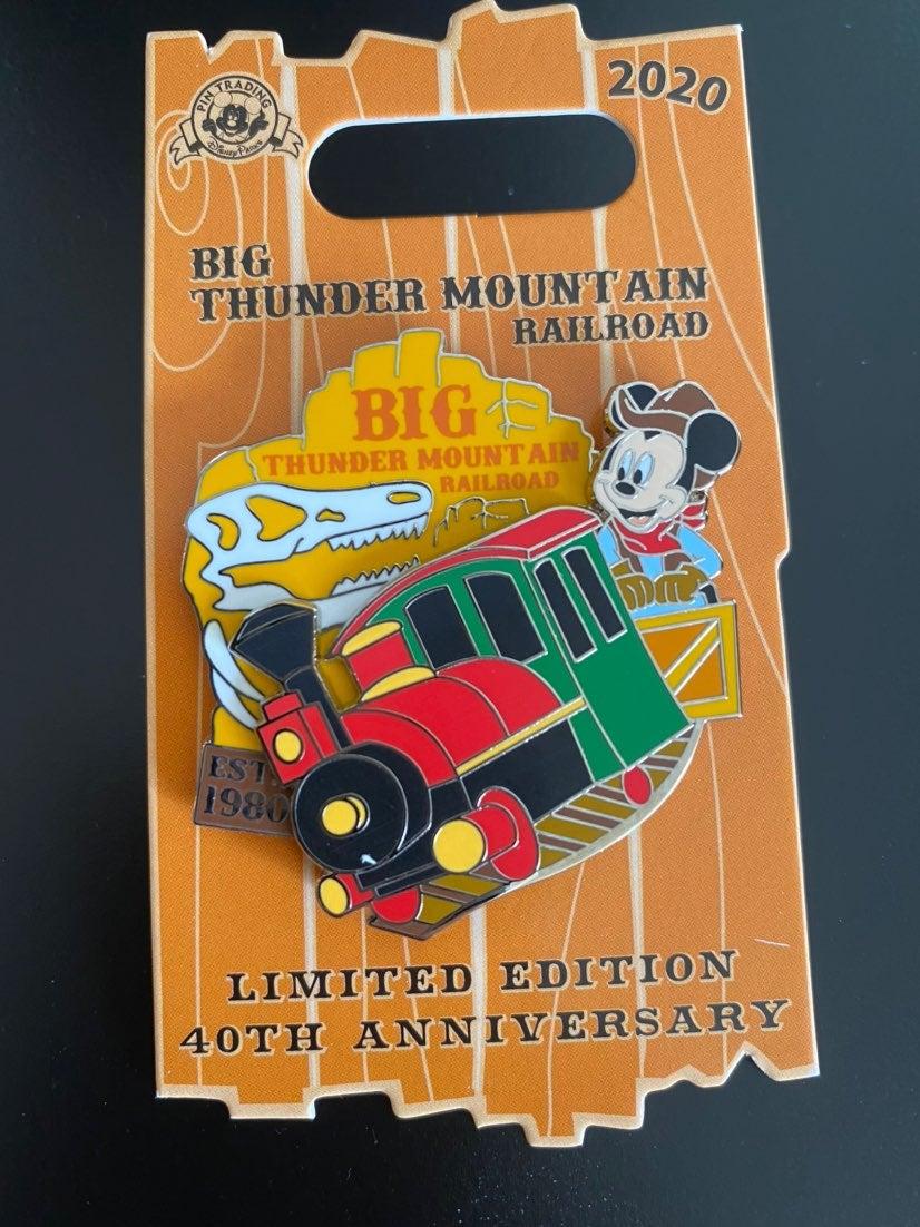 Big Thunder Mountain Limited Edition Pin
