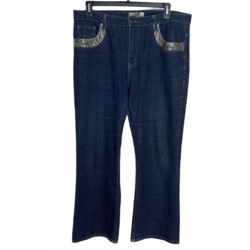 Crest Jeans High Rise Plus Size 19/20