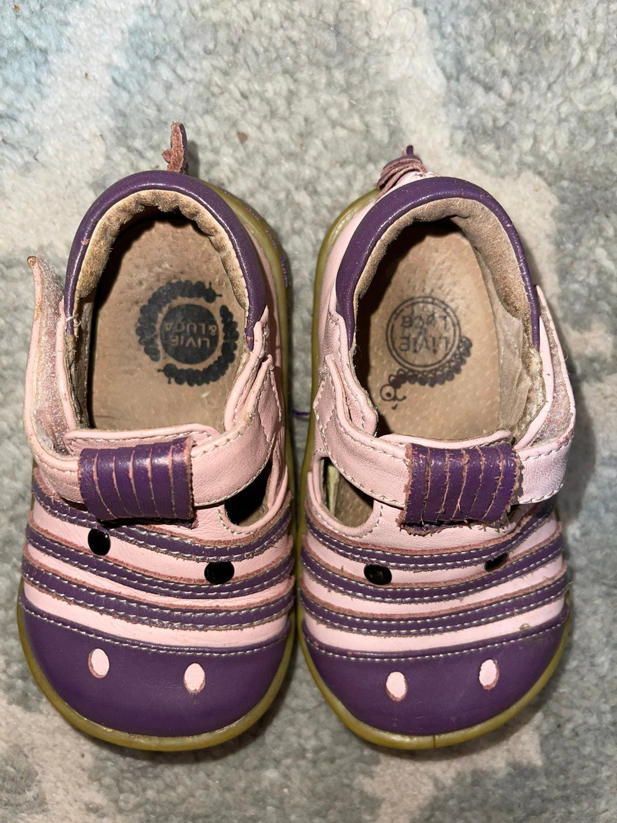 Livie and Luca Purple / Pink Zebras - 5T