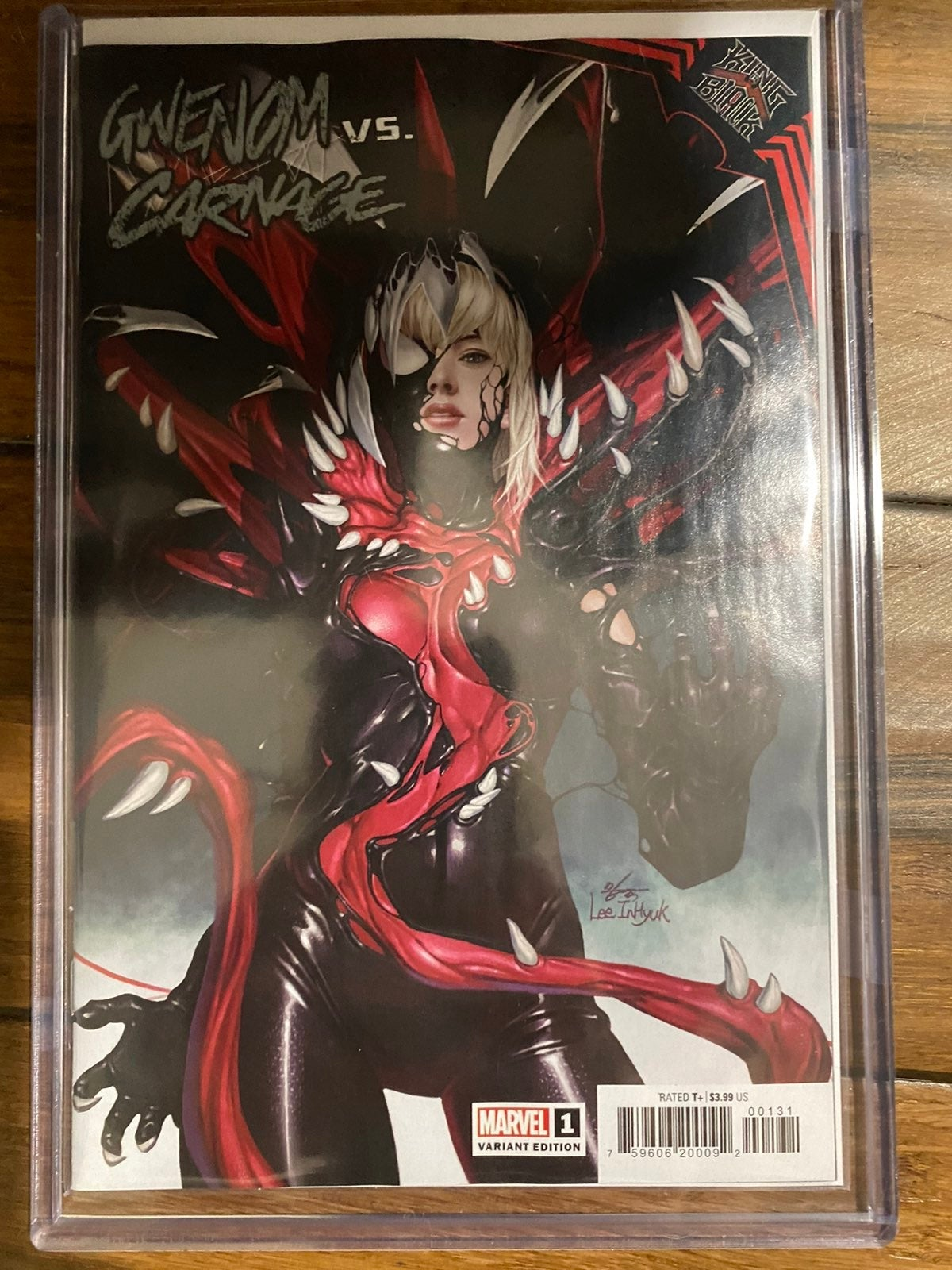 King in Black Gwenom vs Carnage 1