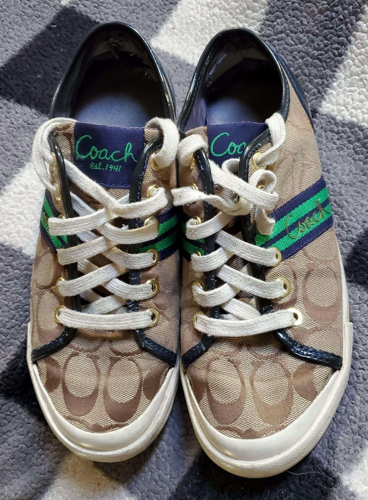 Coach shoes 7.5