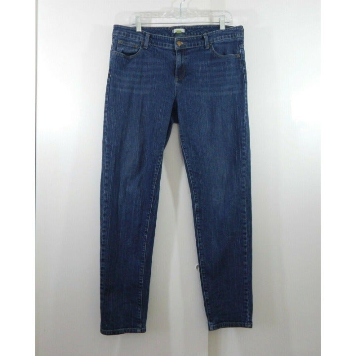 GARNET HILL jeans slim skinny denim 14