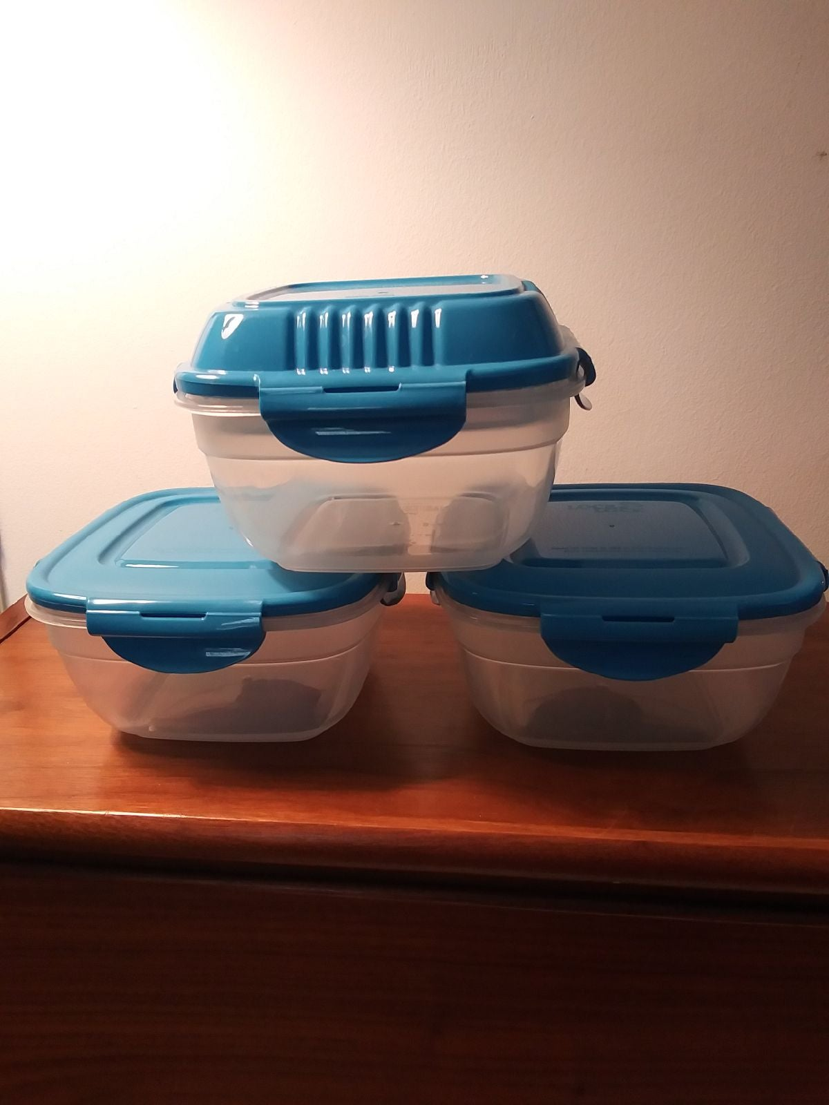 Set of 3 Salad/Food Storage Containers