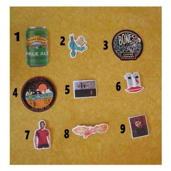Fun Stickers Choose 4/$5