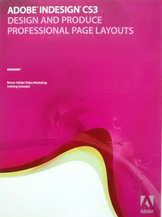 Adobe InDesign CS3 Full Version Windows