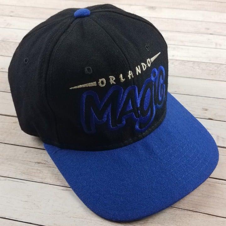 VTG 90s Orlando Magic Black Starter Hat