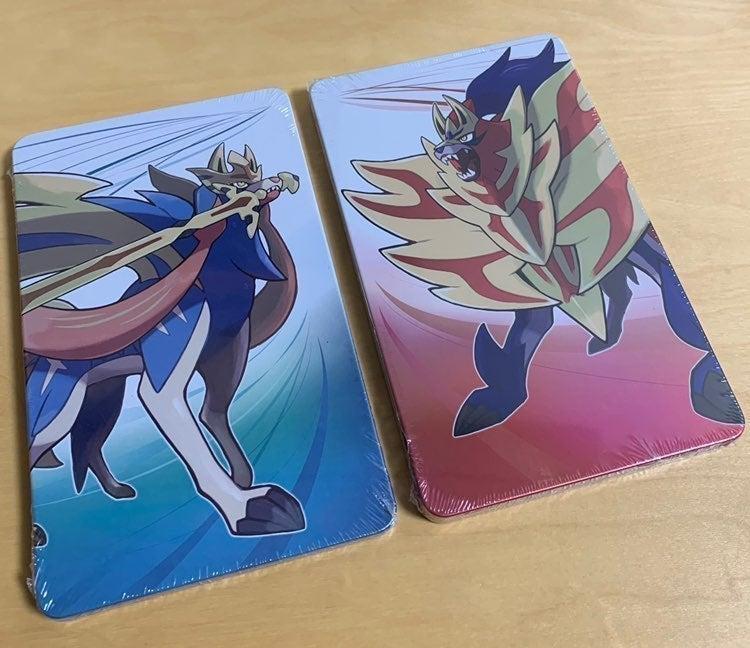 2X Pokemon Sword and Shield Steelbook