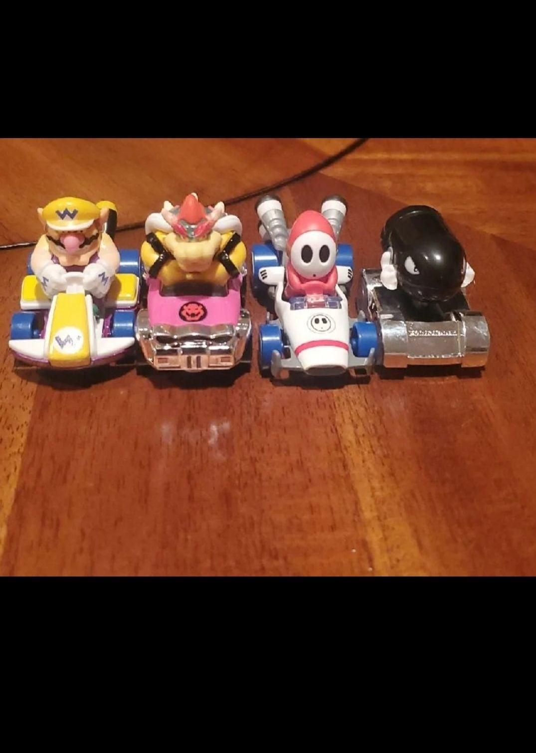 Mario Kart Hot Wheels Mattel Toy Car Lot
