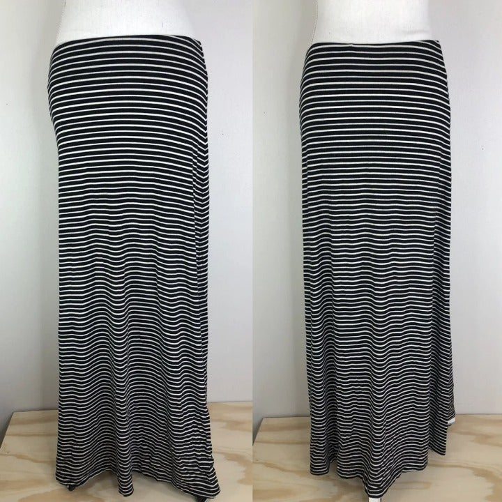 Ann Taylor striped maxi skirt