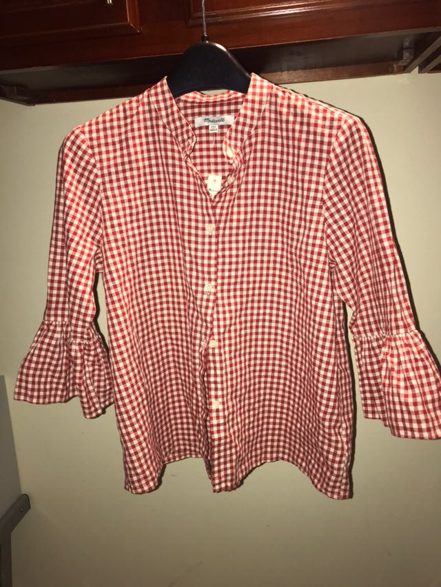 NWT  Madewell Shirt Xs