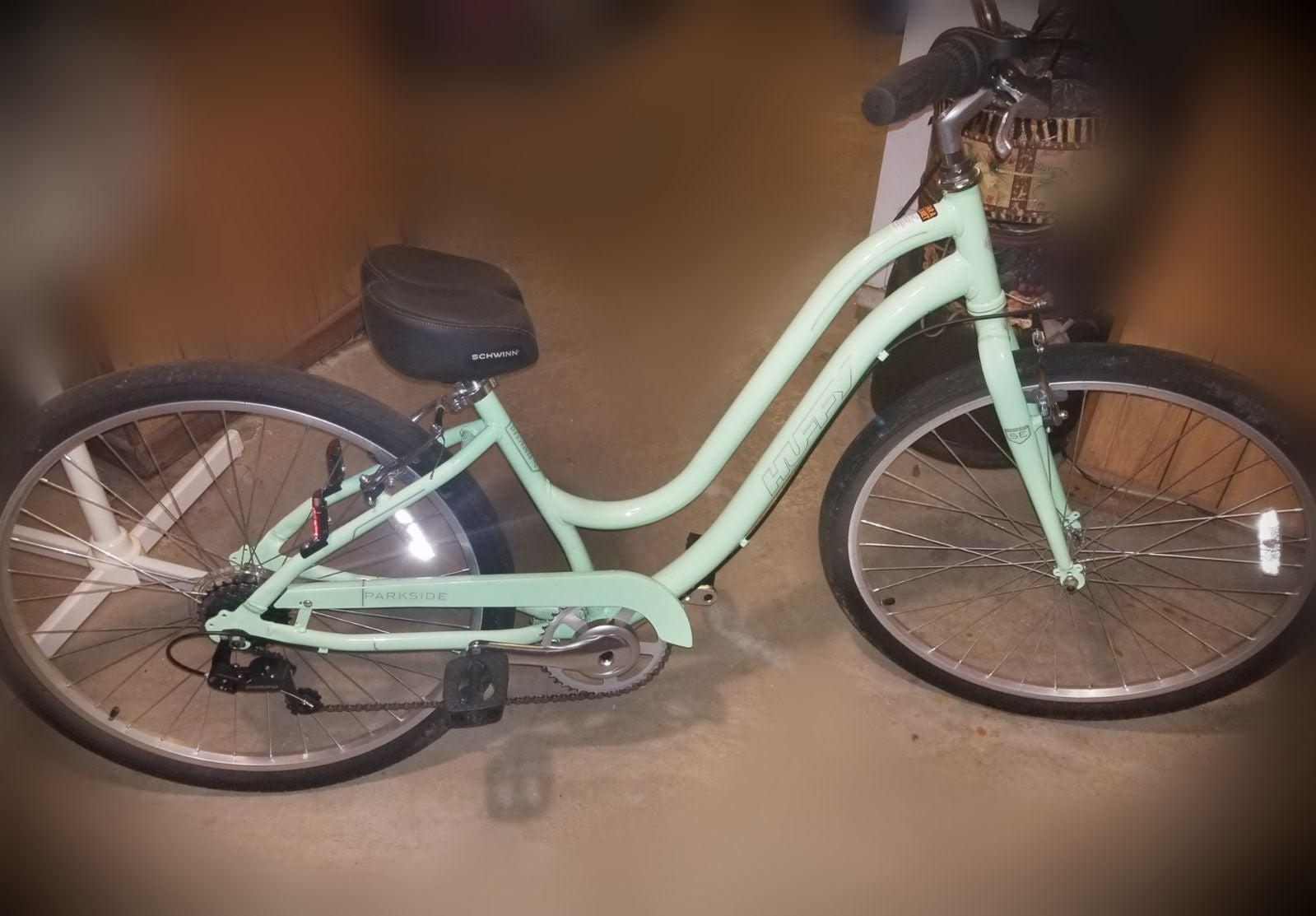 27.5 Huffy Parkside bike and saddle seat