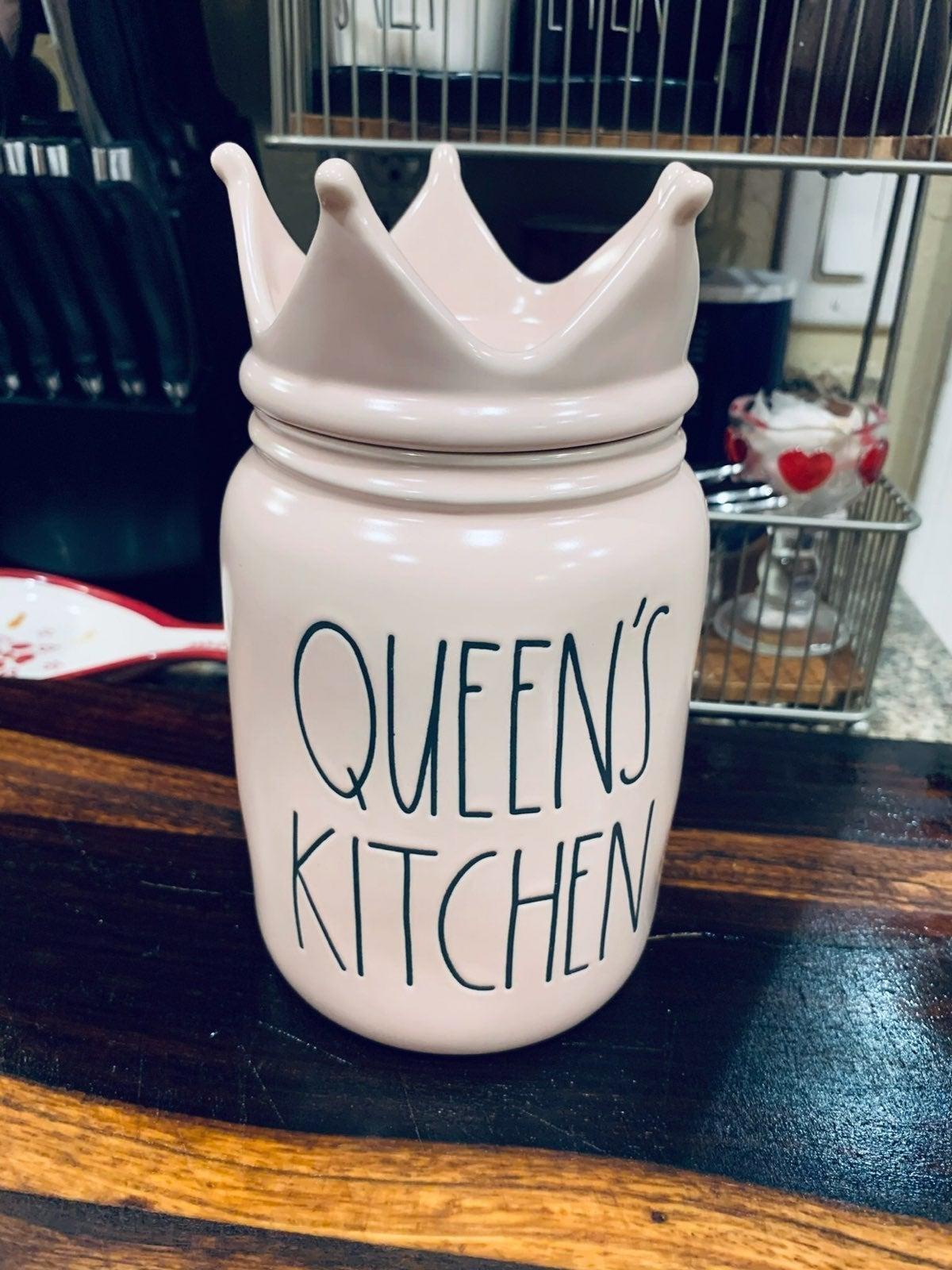 Rae Dunn queens kitchen