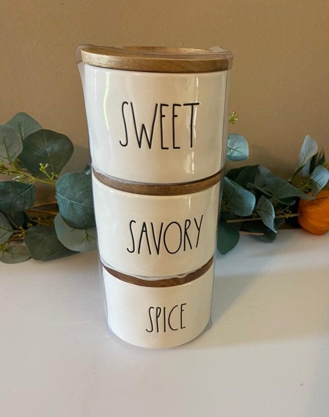 Rae Dunn SWEET, SAVORY & SPICE