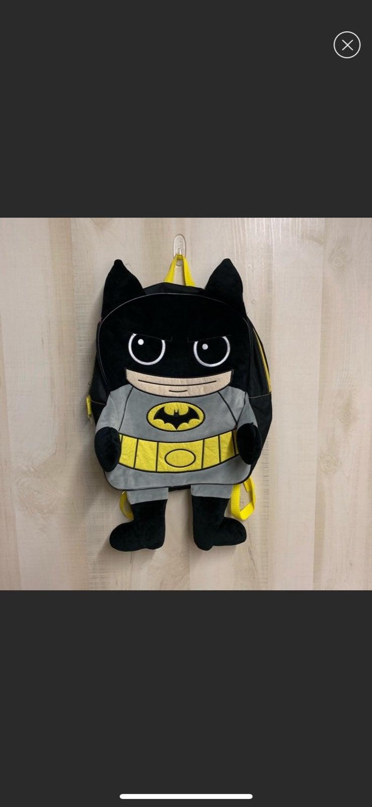 Batman Plush Kids Backpack