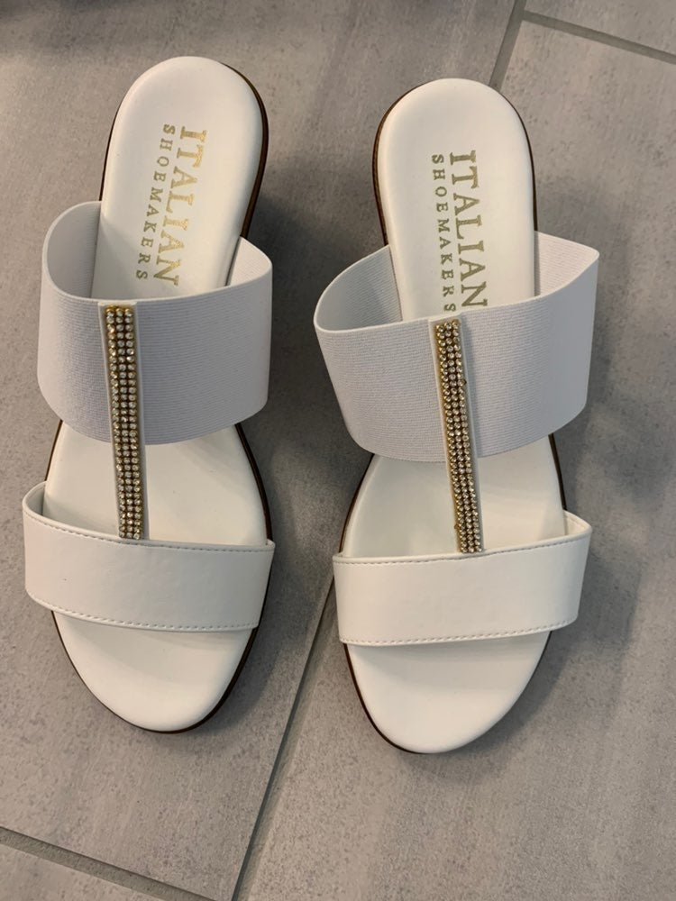 Italian Shoemakers Sandals Size 8