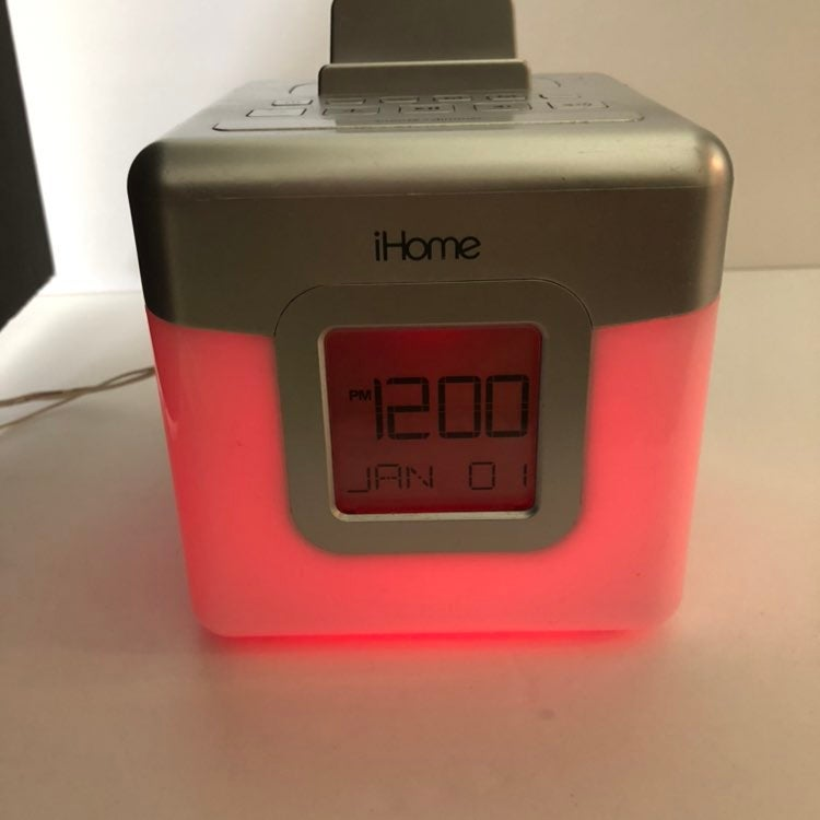 iHome Glow Tunes LED Color Changing