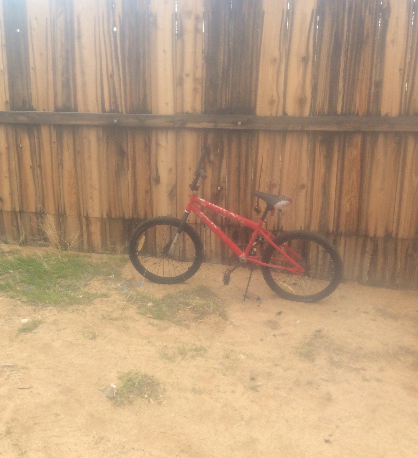 16 in Red Huffy kids Bike!