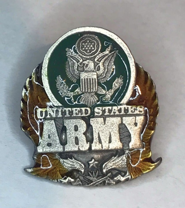Vintage US ARMY Lapel Pin by Siskiyou