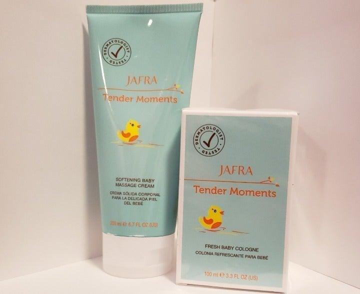 JAFRA Tender Moments Baby Cream & Cologn