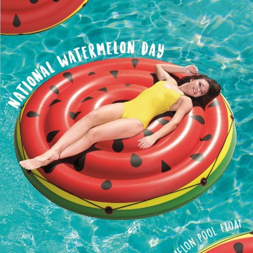 "NEW 74"" Diameter Watermelon Island Float"
