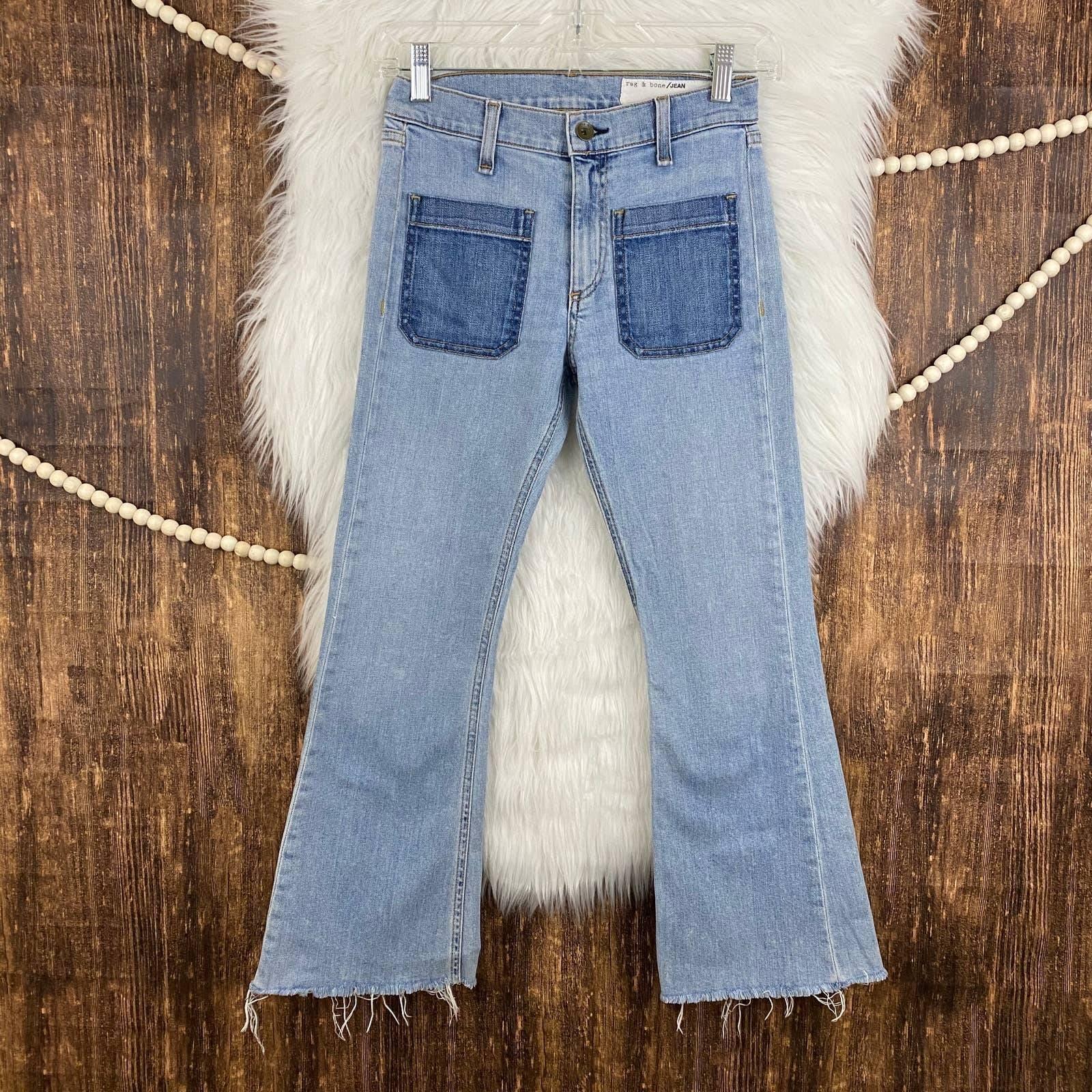 rag & bone | Santa Cruz Flare Crop Jean