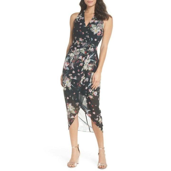 Cooper St Titania Floral Drape Dress