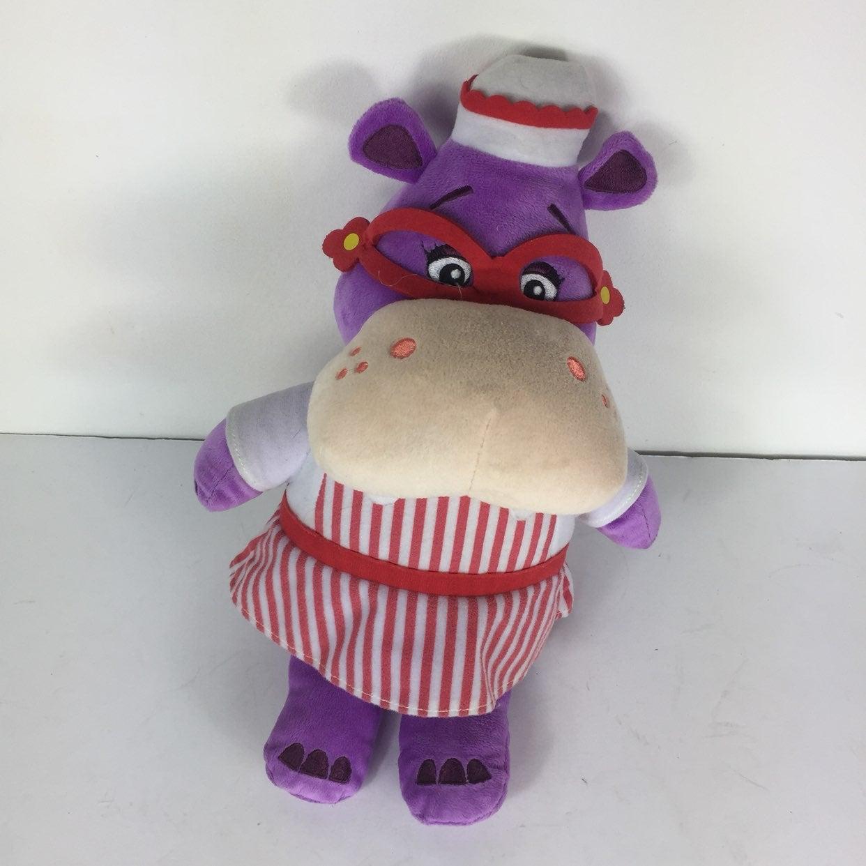 Disney Hallie The Hippo Plush Toy