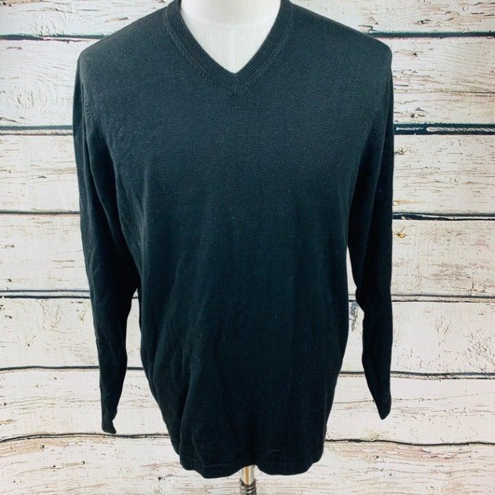 Geoffrey Beene Men's Sweater V-Neck M