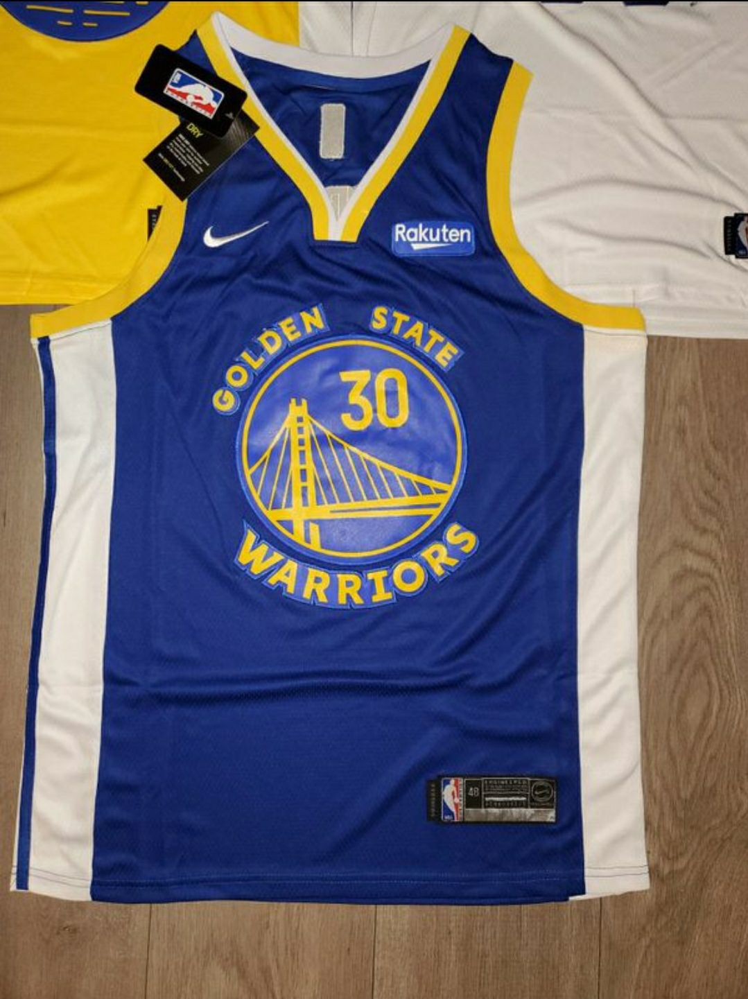 Golden State Warriors Curry Jersey