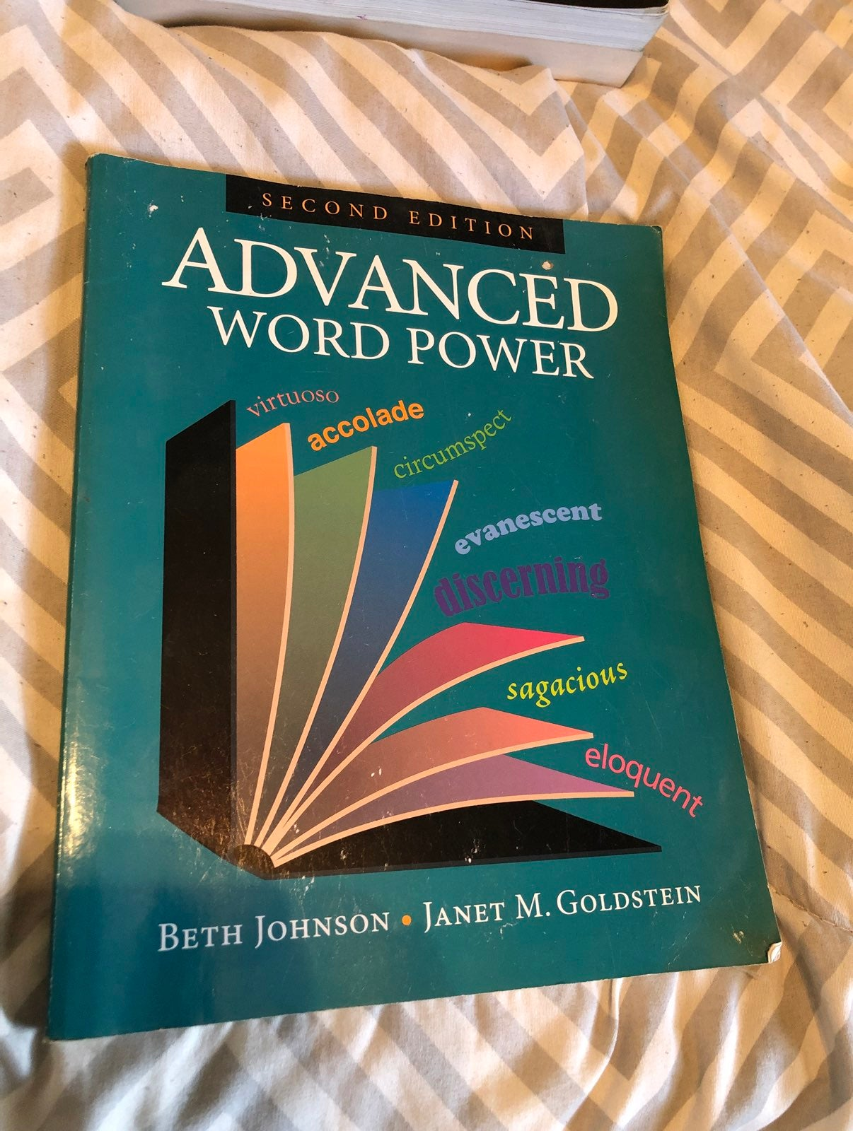 Advanced Word Power Book