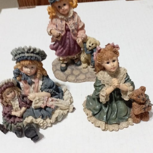Yesterdays child and boyds bears