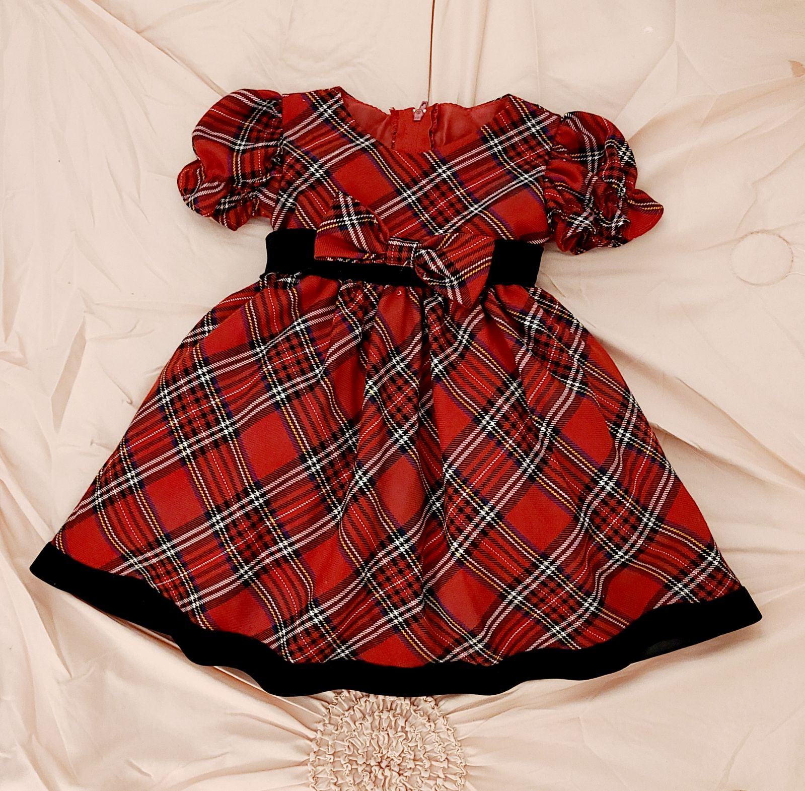 dress vintage Christmas 3-6m