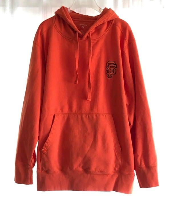 SF Giants Orange Hooded Sweatshirt