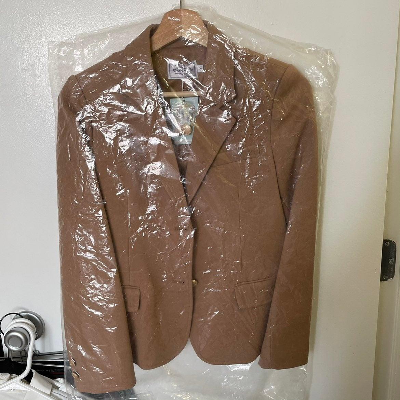 Light brown camel suit blazer JK suit NW