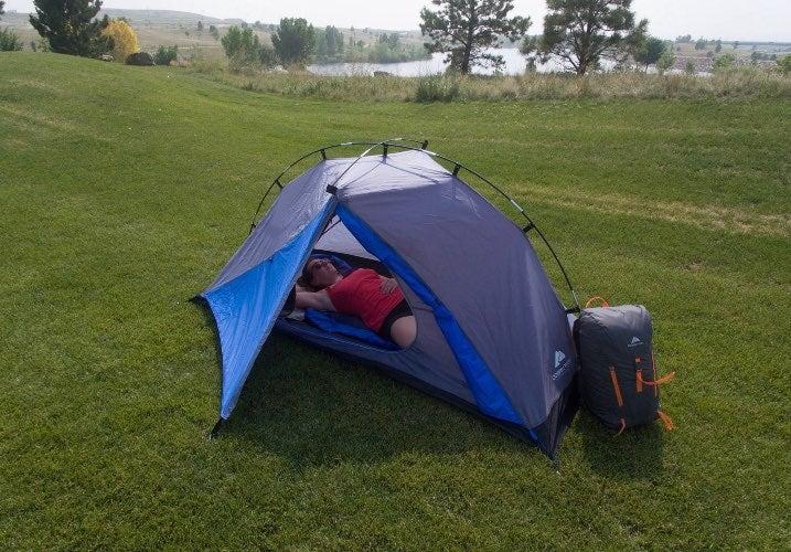 camping tent - backpacker lightweight