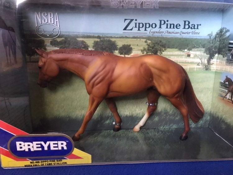 Breyer #466 ZIPPO PINE BAR NSBA HALL OF