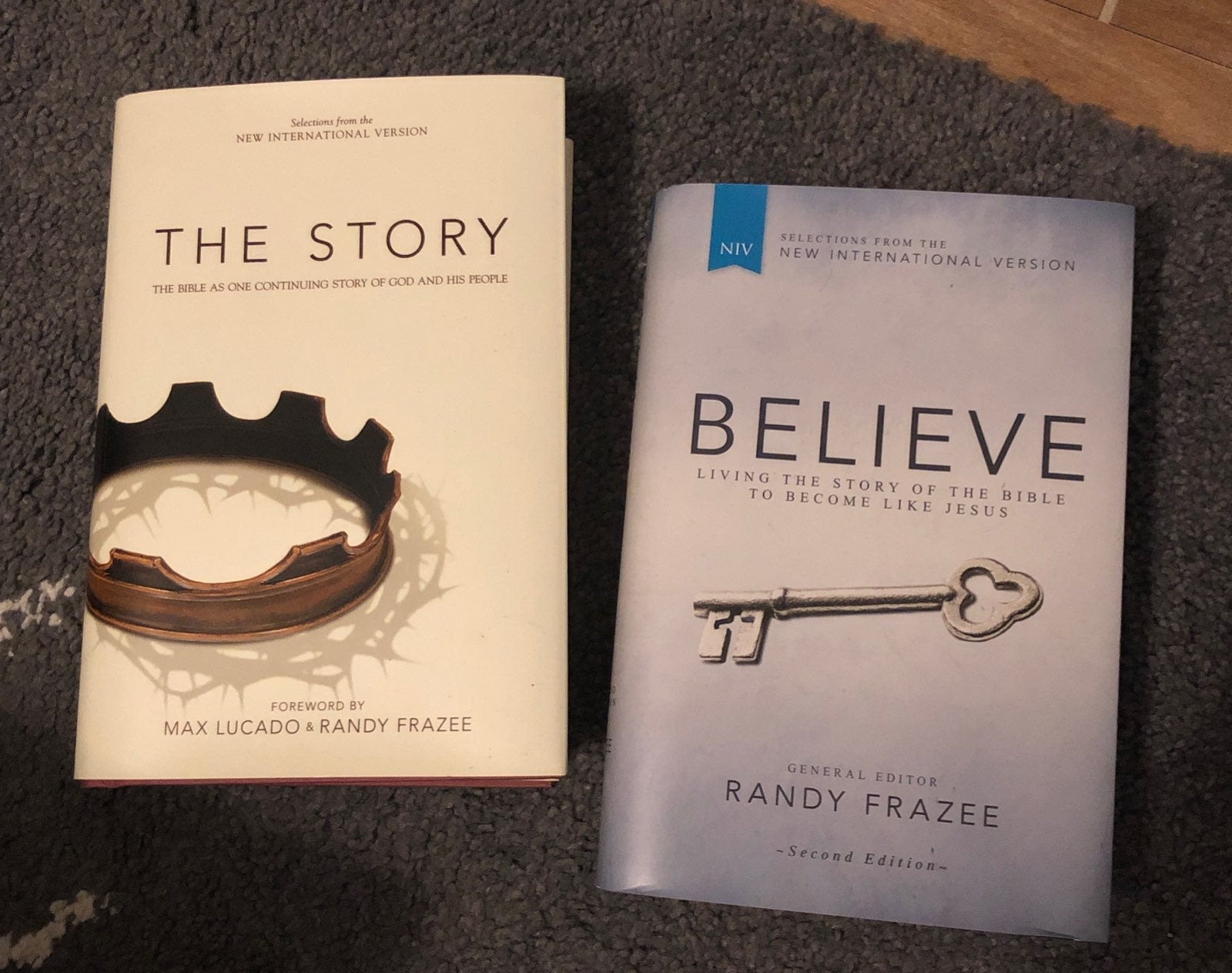 The Story, Believe books