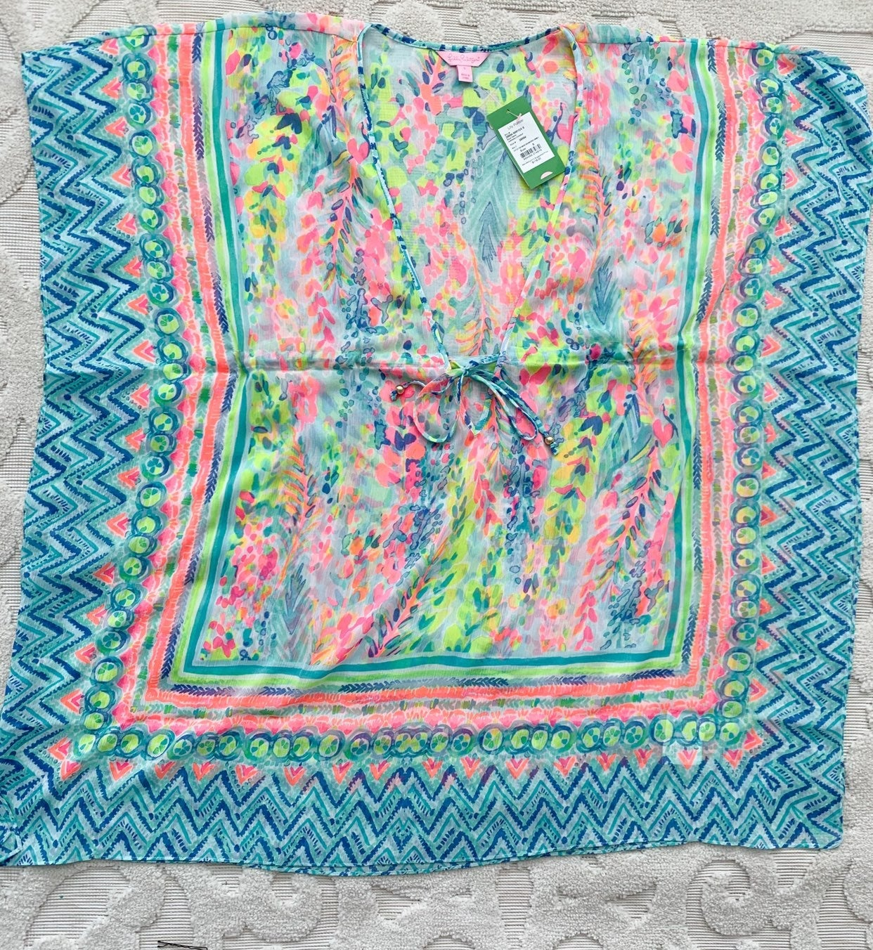 Lilly pulitzer swimsuit coverup