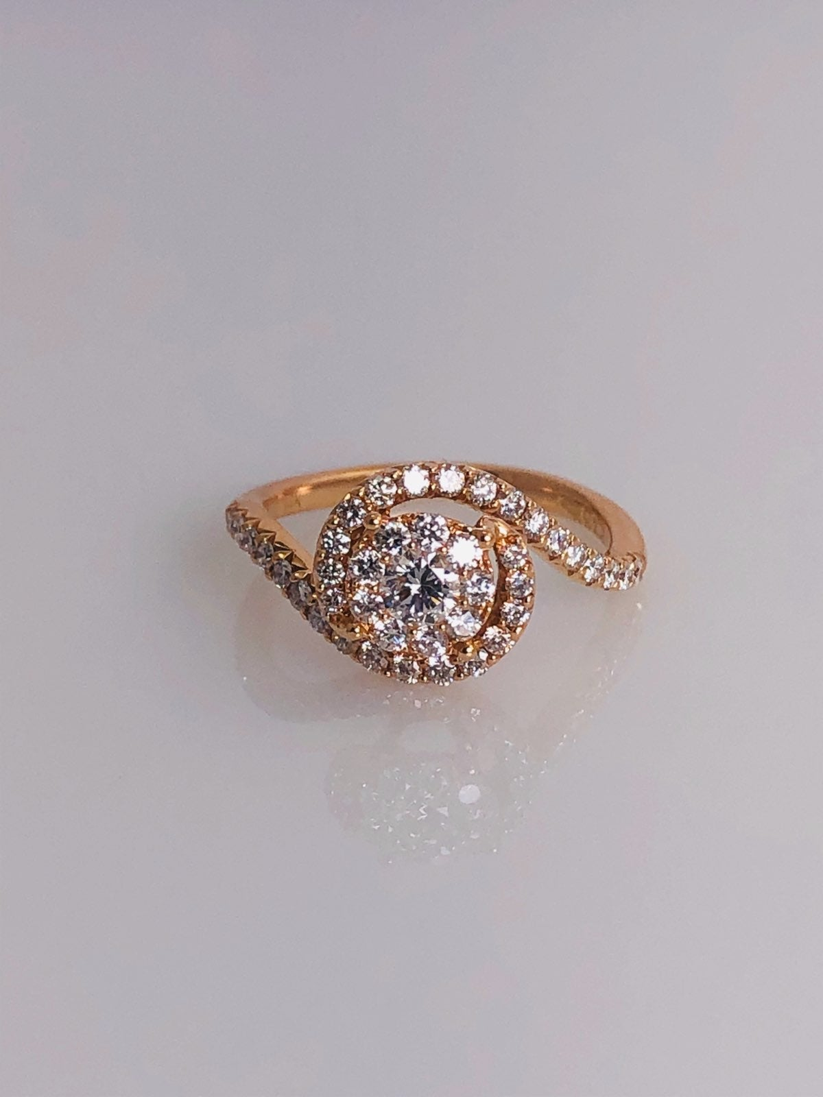Ross Gold Engagement Ring