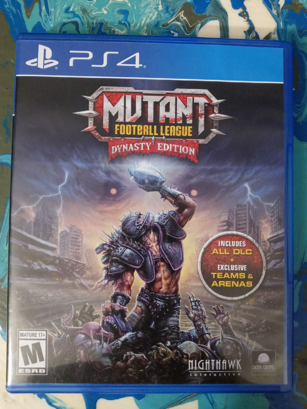 PS4 Mutant Football League Dynasty Editi