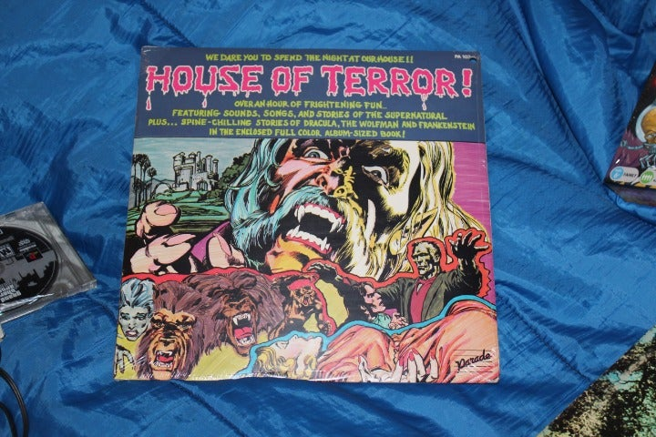 House Of Terror! LP Factory Sealed
