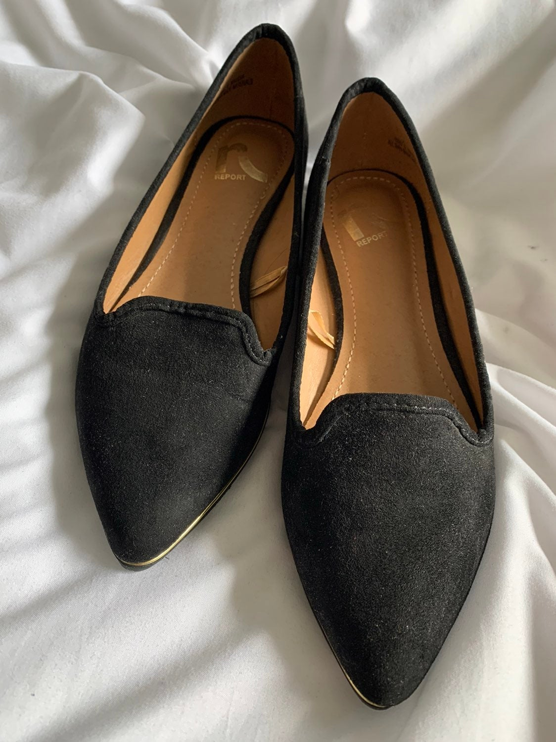 Black Pointy Loafers