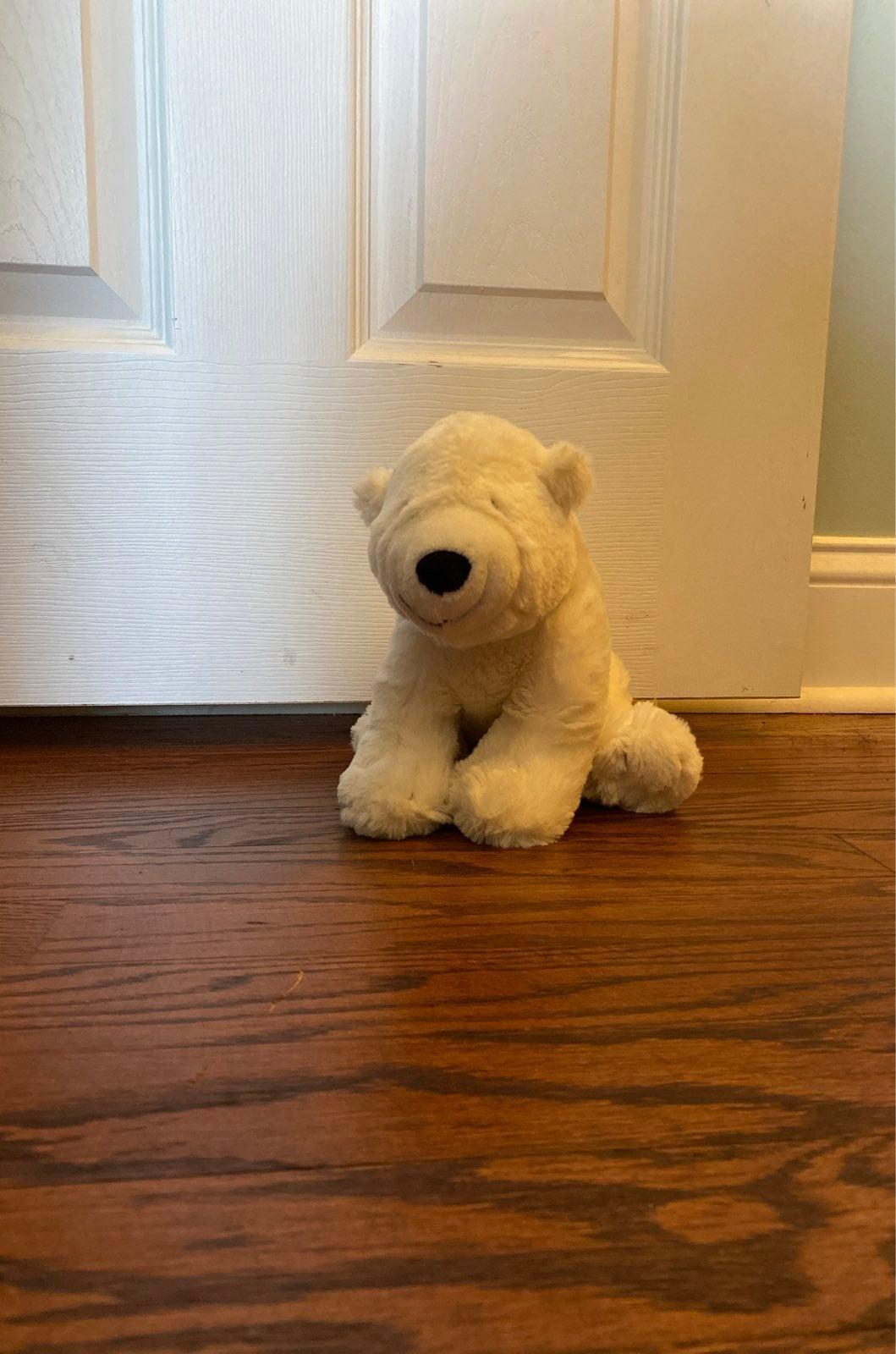 Nancy Tillman polar bear stuffed toy