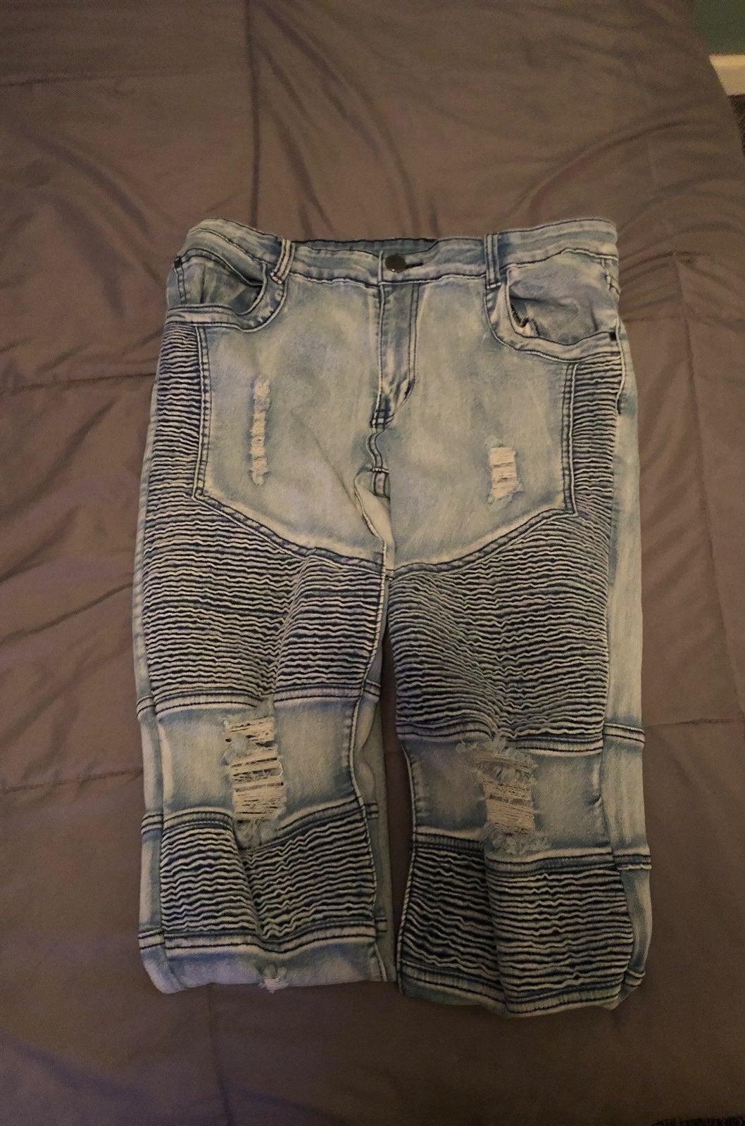 Ripped pants