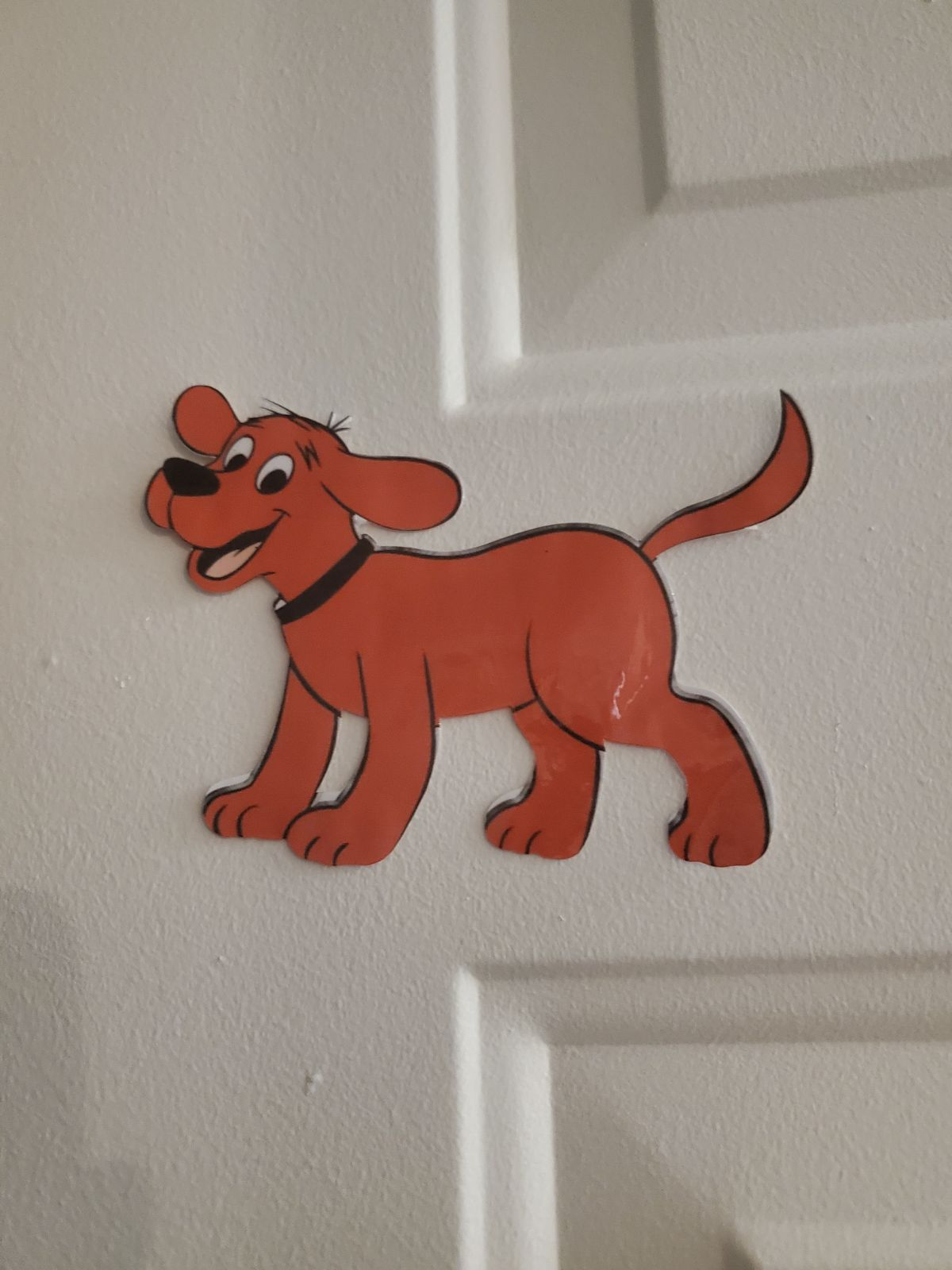 Clifford the big red dog magnet