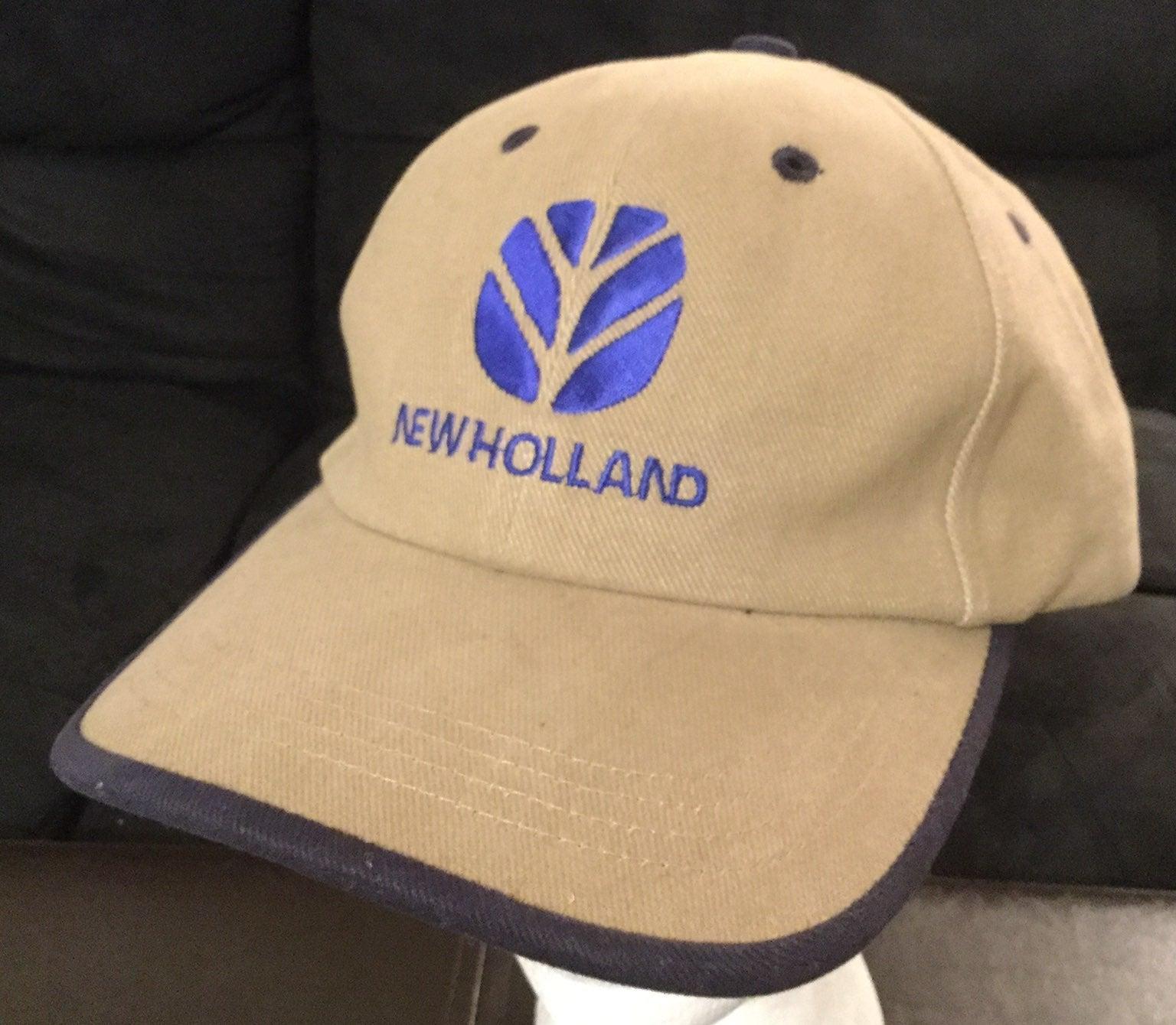 New Holland Tractors Tan Falcon Hat Cap