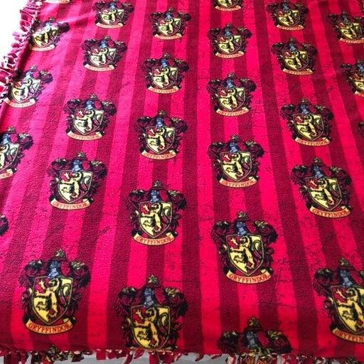 Harry Potter No-Sew Blanket Gryffindor