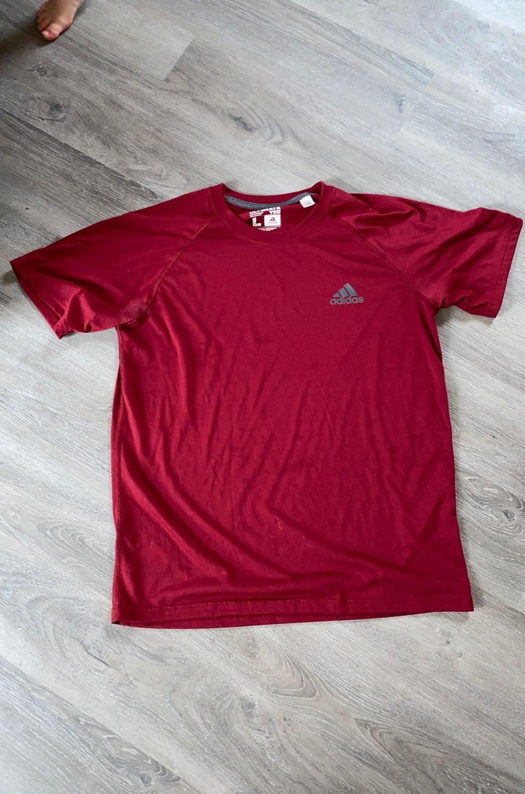 Large mens Adidas Shirt