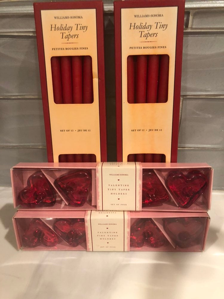 William's Sonoma Tiny Tapers Valentines